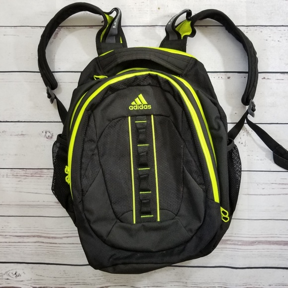 8bc12a02084 adidas Bags   Loadspring Neon Green And Black Backpack   Poshmark